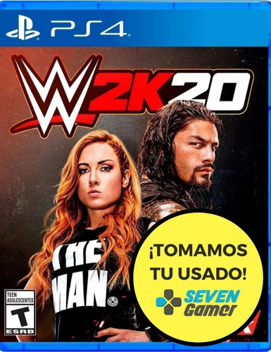 Wwe W2k20 Ps4 Juego Fisico Sellado Original Sevengamer