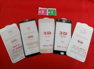 Kit Atacado 50 Película De Vidro 3d 5d 6d + Kit Limpeza