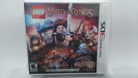 Lego® The Lord Of The Rings Nintendo 3ds Novo Lacrado