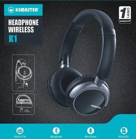Fone Headphone Bluetooth Celular K1/ Kb1 Fm Cartão Original