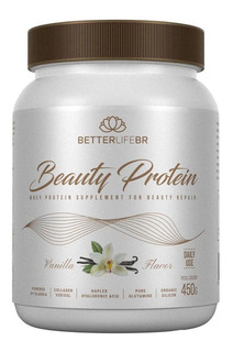 Beauty Protein Vanilla Colágeno Hialurônico 450g Betterlife