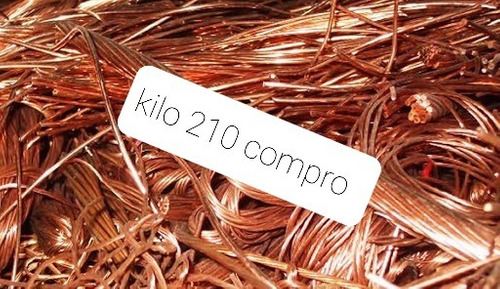 Cobre  Chatarra Metales Compro Vamos A Domicilio