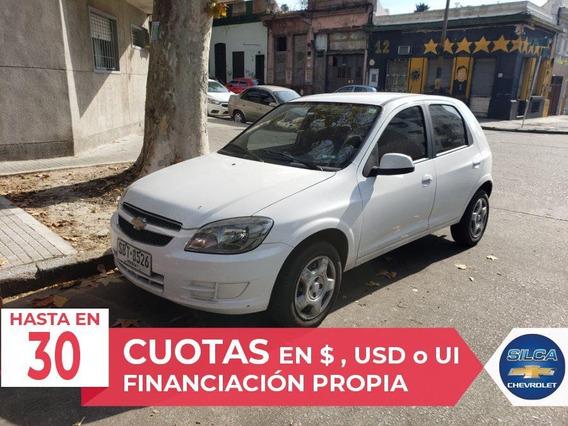 Chevrolet Celta Lt 1.4 2015 Blanco 5 Puertas