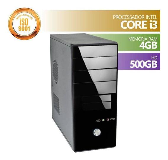 Computador Corporate Intel Core I3 2.93ghz 4mb Cache Memória 4gb Ddr3 1333mhz Ssd 120gb Sata3 Frete Grátis