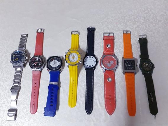 Relógio De Pulso Masculino (pequena Coleção)