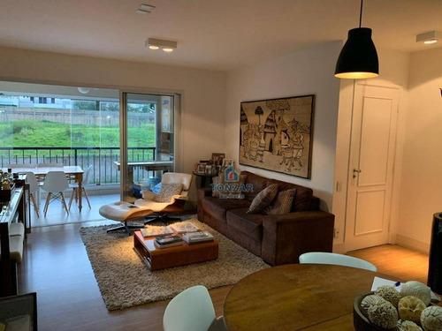 Imagem 1 de 30 de Apartamento Residencial A Venda, Condomínio Galleria Boulevard, Jardim Madalena, Campinas. - Ap1562