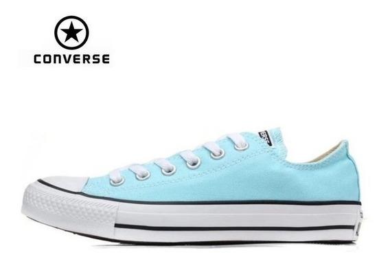 Tennis Converse All Star Clasicas Todos Colores Mujer Hombre