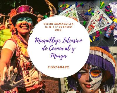 Intensivo Maquillaje Murga Y Carnaval
