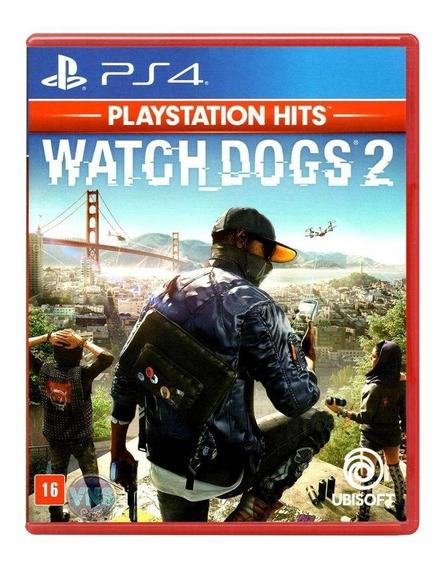 Watch Dogs 2 Playstation Hits Midia Fisica Novo Original Ps4