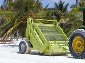 Maquina Para Limpiar Playas Barber Green 600hd