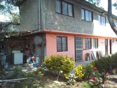 Casa Tláhuac Con 3 Rec Y Jardín Junto A Metro Nopalera