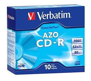 Textualmente 700 Mb 52 X Discos Grabados De Marca Cd-r Datal