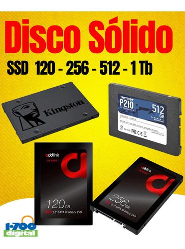 Ssd Disco Duro Solido 250gb 256 240 Y 480 500 960 Gb 1tb Pc