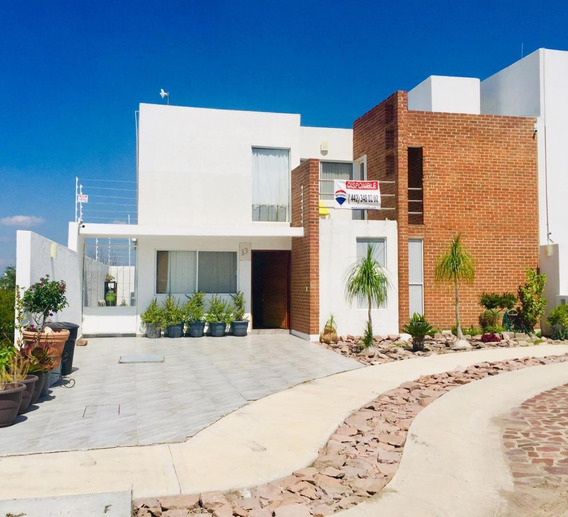 Casa En Renta El Encino Residencial & Golf Queretaro Rcr200603-gm