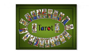 Tapiz Tarot 1,00mt. X 0,70 Cm. Exclusivos
