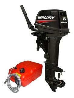 Motor De Popa Mercury 15 Super (potência De 18 Hp) 2t - 0 Km