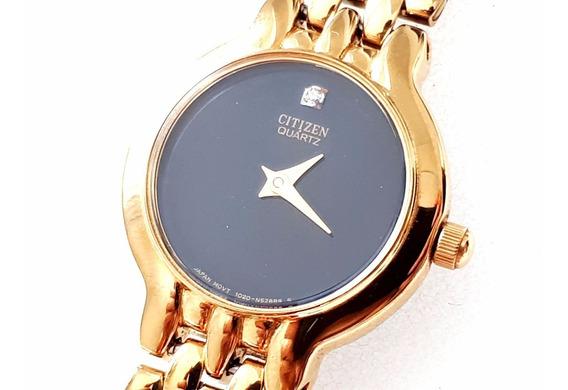 Relógio Citizen Quartz En0012-54g Feminino - Novo - Raridade
