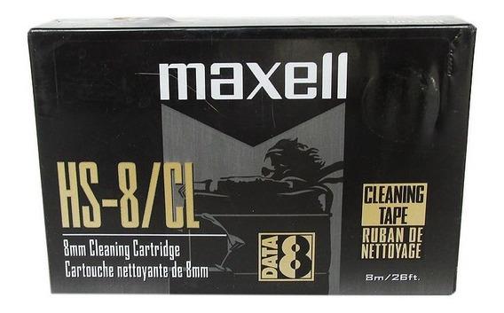 Fita De Limpeza Video 8, Hi8 E Digital 8 Maxell Vp-203