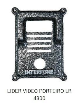 Protetor Interfone Vídeo Porteiro Lr4300 Líder + Nota Fiscal