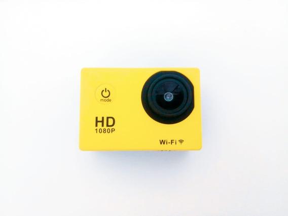 Action Cam 1080p Esportes E Moto/bike + Acessórios