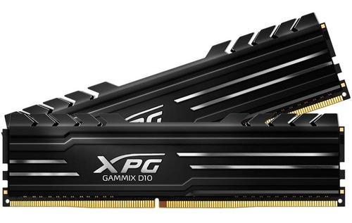 Imagem 1 de 1 de Memória Xpg Gammix D10 16gb 2x8g 3000mhz Ax4u300038g16a-db10
