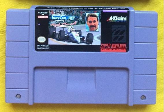 Newman Indy N. Mansell Original Snes