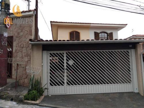 Belissimo Sobrado Residencial  Bem Localizado - Ca0051
