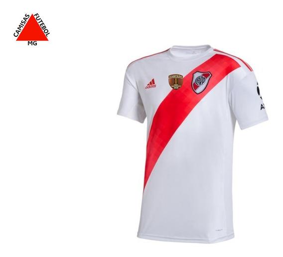 Camisa River Plate Home 2019/2020 - Pronta Entrega