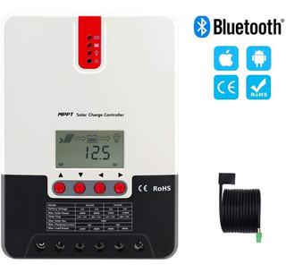 Controlador Regulador Solar 40a Amp 12v/24v Mppt Bluetooh