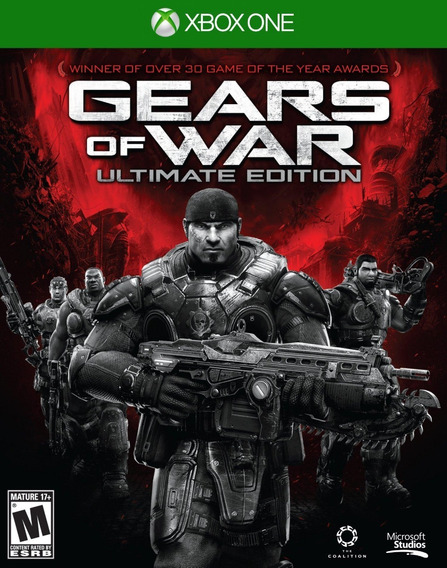 Gears Of War Ultimate Edition Midia Fisica Novo Original