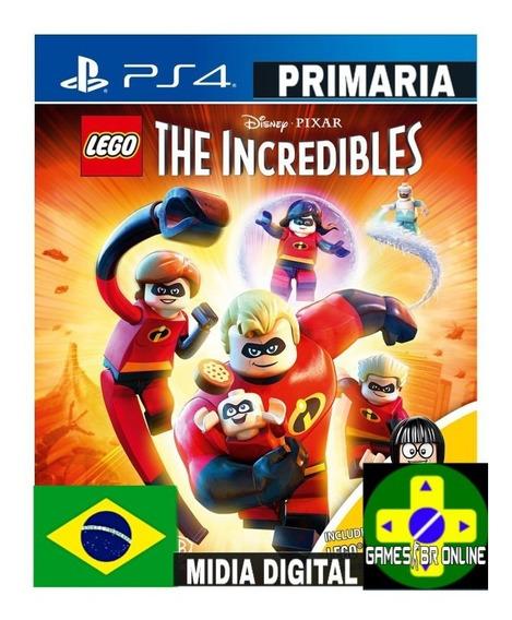 Lego Os Incríveis - Ps4 Code 1 Envio Hoje