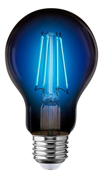Foco Led Decorativo Filamento E27 Azul 4w 127v 122222 Aksi