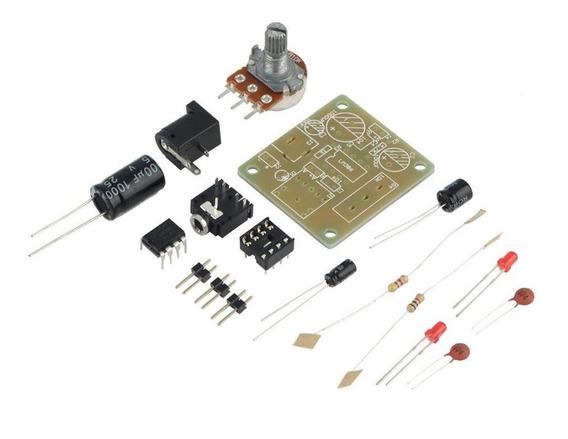 Lm386 Diy Mini Amplificador Placa Módulo De Alto Desempenho