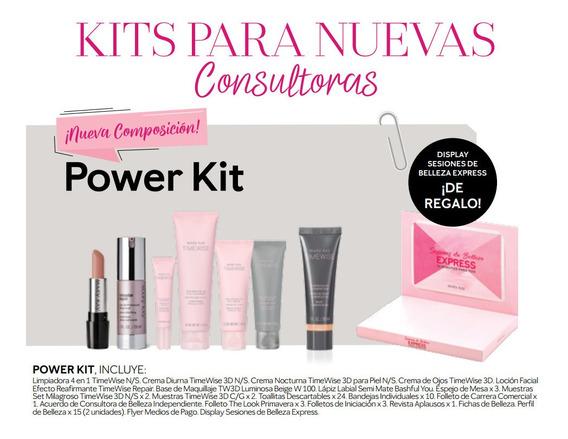 Set Inicio Consultora De Belleza Mary Kay Power Kit