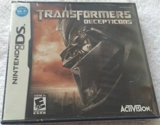 Nintendo Ds Transformers Decepticons - Mídia Física Lacrado