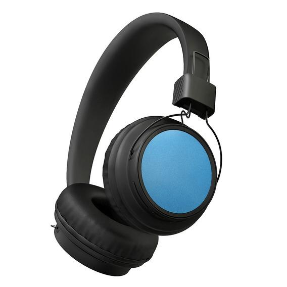 Fone De Ouvido Bluetooth 4.0 Sem Fio Wireless Azul