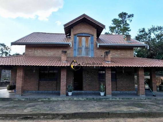 Chácara Com 4 Dormitórios À Venda, 1400 M² Por R$ 1.300.000 - Bela Vista - Paulínia/sp - Ch0013