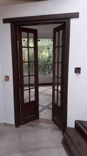 Porta Balcão De Madeira Cedro Com Vidro (1.04 X 2.16)