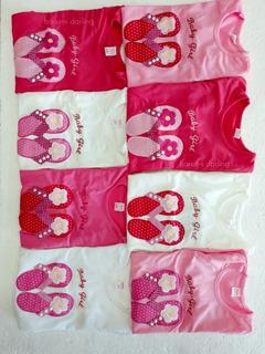 Pack X10 Camiseta De Bebe Beba De Modal Con Diseño X Mayor