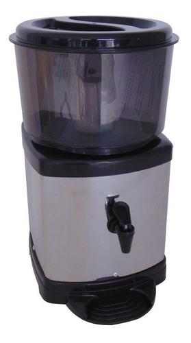 Imagem 1 de 2 de Bebedouro Para Água Filtro Para Água Inox Com Base De Barro