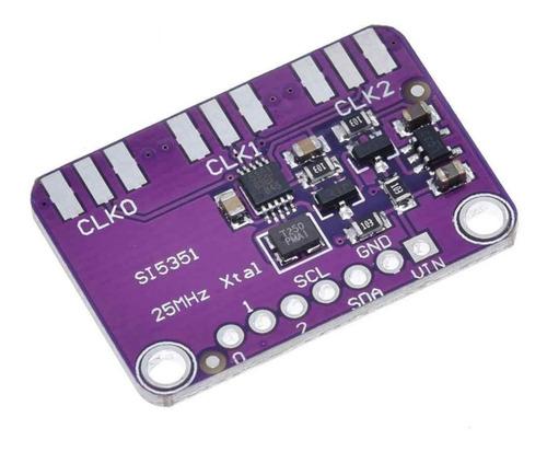 Generador De Reloj Si5351a - 8 Khz A 160 Mhz + Conector Sma