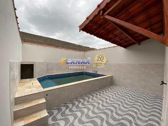 Vendo Casa C/ Piscina Perto Do Centro De Mongaguá Ref 7984 E