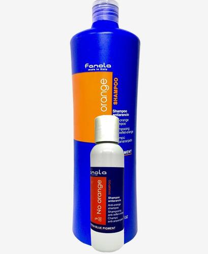 Fanola No Orange Shampoo 100 Ml Porcionado