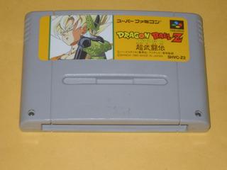Dragon Ball Z Super Butouden Super Famicom Snes Japonés