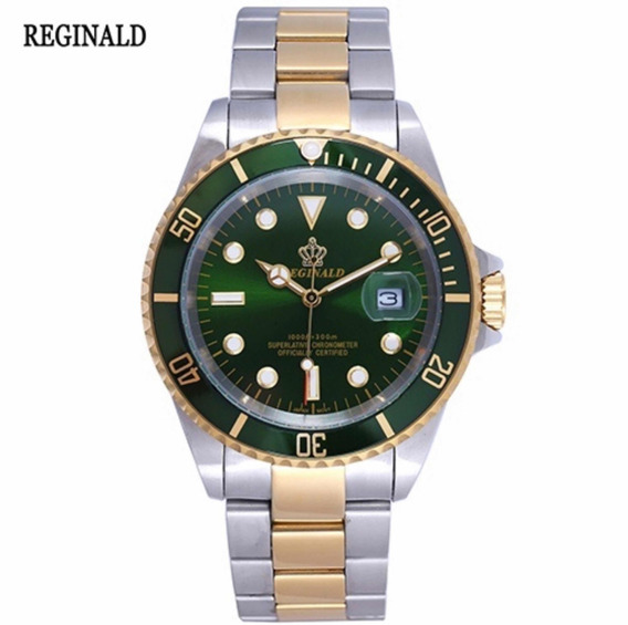 Relógio Masculino Exclusivo Reginald Sapphire Glass