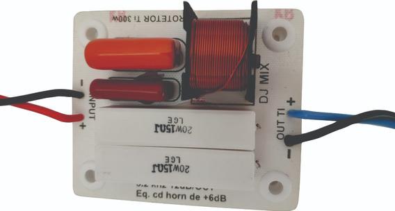 Kit (02)unidades Divisor De Frequência 1 Via Titânio 300w