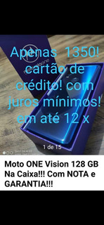 Moto One Vision 128 Gb 4 Ram