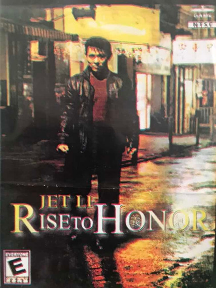 Jogo Ps2 Rise To Honor Jet Li Prensado