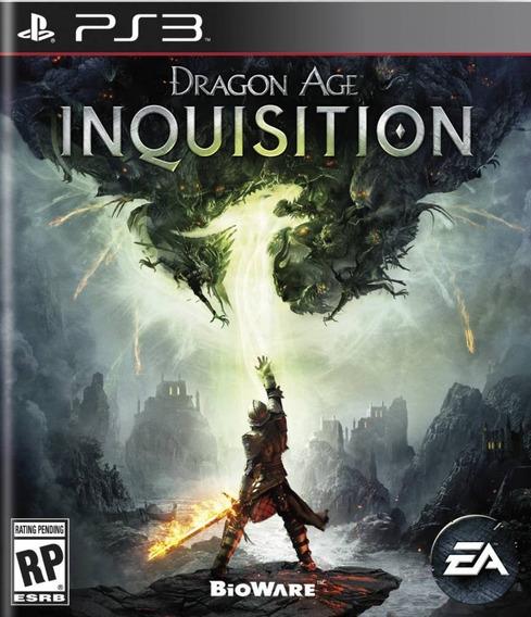Dragon Age Inquisition Ps3 Mídia Física Lacrado