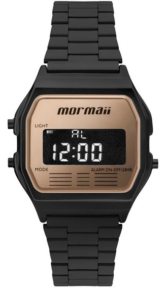 Relógio Mormaii Unissex Preto - Mojh02ao/4j C/ Garantia E Nf